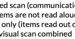 How do I select scanning method?